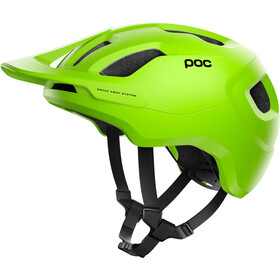POC Axion Spin Casque, fluorescent yellow/green matt